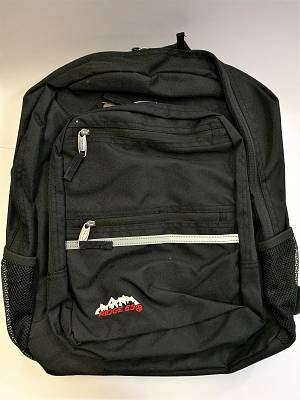 Cover of Campus Black Backpack - Ridge53 - 5391533511404