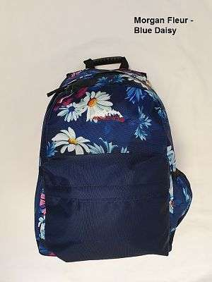 Cover of Morgan Fleur Blue Daisy Backpack - Sportech - 5391533512302