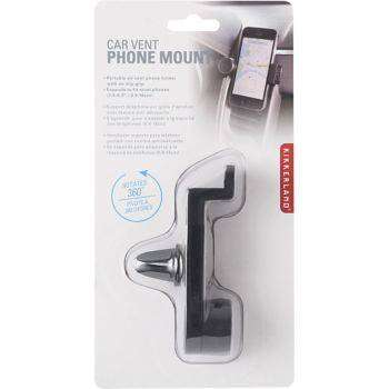 Cover of Phone Holder Air Vent - Kikkerland - 612615075740