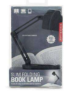 Cover of Slim Folding Book Lamp - Kikkerland - 612615084223