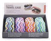 Cover of Striped Travel Case - Kikkerland - 612615102958