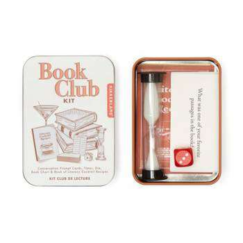 Cover of Book Club Kit - Kikkerland - 612615103450