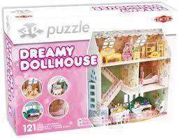 Cover of 3D Puzzle Dreamy Dollhouse - 6416739554631