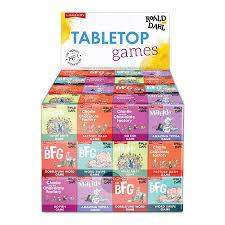 Cover of Roald Dahl Table Top Games Assorted - Lagoon - 677666019549
