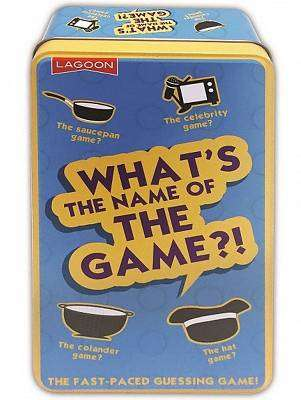 Cover of WHAT'S THE NAME OF THE GAME? - 677666020163