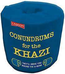 Cover of Conundrums for the Kazi Loo Roll - 677666021283