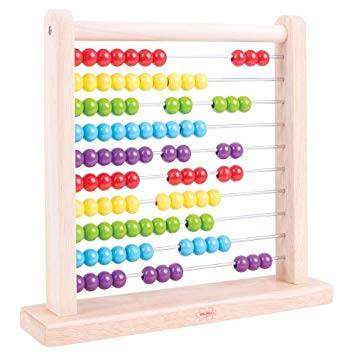Cover of Wooden Abacus - Bigjigs - 691621087213