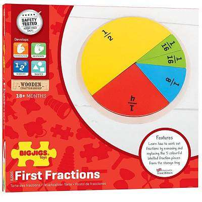 Cover of First Fractions - Bigjigs - 691621542057
