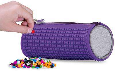 Cover of Pixie Crew Purple Rounded Pencil Case - 702811690561