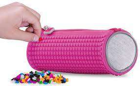 Cover of Pixie Crew Pink Rounded Pencil Case - 702811690578