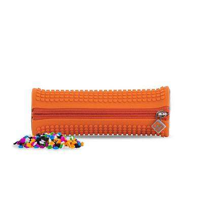 Cover of Pixie Crew Orange Rounded Pencil Case - 702811690592