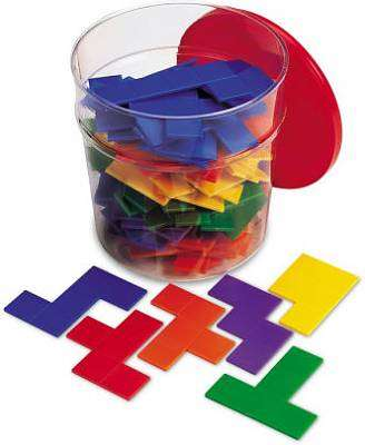 Cover of Rainbow Pentominoes Puzzle Tub - Learning Resources - 765023002034