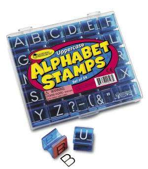 Cover of Uppercase Alphabet & Punctuation Stamps - Learning Resources - 765023005974