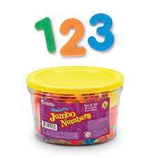 Cover of Jumbo Magnetic Numbers - 765023009231
