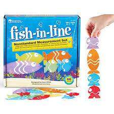 Cover of Fish-In-Line Nonstandard Measurement Set - Learning Resources - 765023017748