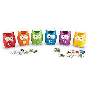 Cover of Vowel Owls Sorting Set - 765023054606