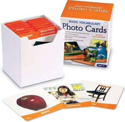 Cover of Basic Vocabulary Photo Card Set - 765023060799