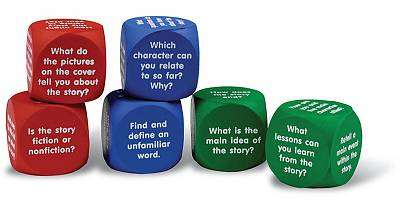 Cover of Reading Comprehension Cubes - Learning Resources - 765023070224