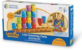 Cover of 1-10 Counting Owls Activity Set - 765023077322