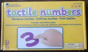 Cover of Tactile Numbers - 765023501940