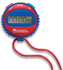 Cover of Simple Stopwatch - Learning Resources - 765023808087