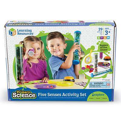 Cover of Five Senses Activity Set - 765023808278