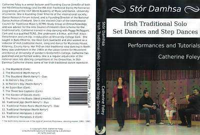 Cover of Stór Damhsa: Irish Traditional Solo Set Dances and Step Dances - Catherine Foley - 797776409402
