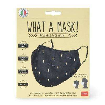 Cover of What a Mask! Resusable Face Mask - Flash - Legami - 8052461964225