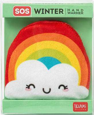 Cover of SOS Winter Hand Warmer - Rainbow - Legami - 8052461964836