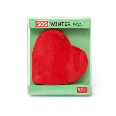 Cover of SOS Winter Hand Warmer - Heart - Legami - 8052461964843