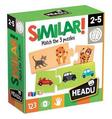 Cover of Similar 35 Piece Match Puzzle - 8059591420768