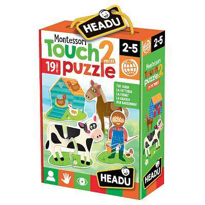 Cover of Montessori Touch First Puzzle - 8059591420874