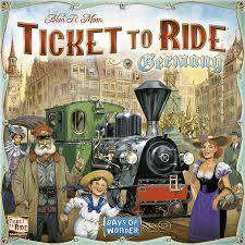 Cover of Ticket to Ride - Germany - 824968200155