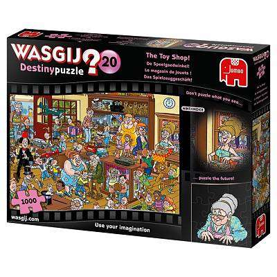 Cover of WASGIJ Destiny 20 The Toy Shop 1000 piece Jigsaw Puzzle - Jumbo Games - 8710126191712