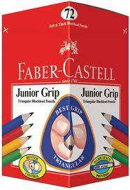 Cover of Faber Castell Junior Grip Pencil 72 box - 8991761465004