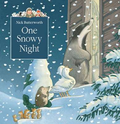 Cover of Tales from Percy's Park: One Snowy Night - Nick Butterworth - 9780007146932