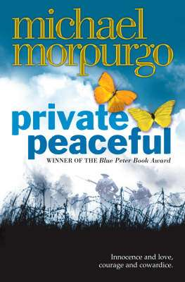 Cover of Private Peaceful - Michael Morpurgo - 9780007150076