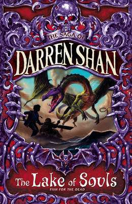 Cover of The Saga of Darren Shan 10 : The Lake Of Souls - Darren Shan - 9780007159192