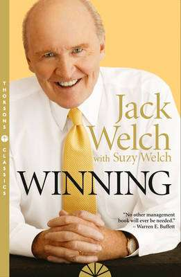 Cover of WINNING - Welch Jack - 9780007197675