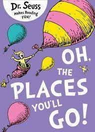 Cover of Oh, The Places You'll Go - Dr. Seuss - 9780007413577