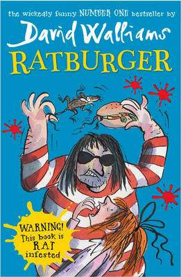Cover of Ratburger - David Walliams - 9780007453542