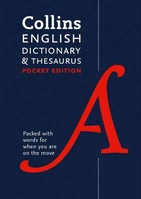 Cover of Collins English Pocket Dictionary and Thesaurus 7th edition - Collins Dictionaries - 9780008141790