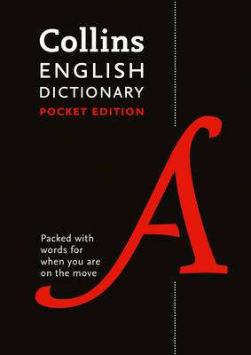 Cover of Collins English Pocket Dictionary 10th edition - Collins Dictionaries - 9780008141806