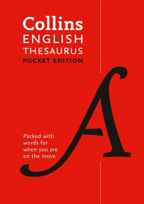 Cover of Collins English Pocket Thesaurus 7th edition - Collins Dictionaries - 9780008141820