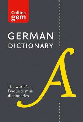 Cover of Collins Gem German Dictionary - Collins Dictionaries - 9780008141868