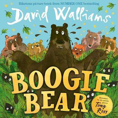 Cover of Boogie Bear - David Walliams - 9780008172787