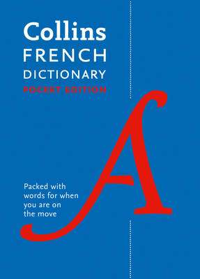 Cover of COLLINS POCKET FRENCH DICTIONARY: 40,000 WORDS AND PHRASES IN A PORTABLE FORMAT - Collins Dictionaries - 9780008183622
