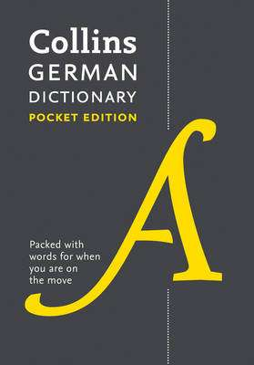 Cover of Collins Pocket German Dictionary 9th edition - Collins Dictionaries - 9780008183639