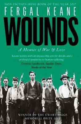 Cover of Wounds: A Memoir of War and Love - Fergal Keane - 9780008189273