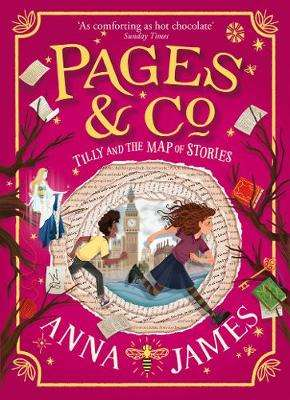 Cover of Tilly and the Map of Stories (Pages & Co., Book 3) - Anna James - 9780008229948
